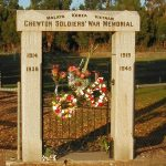 Chewton Soldier's Memorial Park Gates