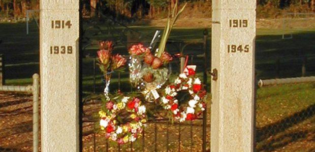 Chewton Soldier's Memorial Park Gates